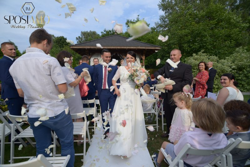 Ślub plenerowy w ogrodzie w Kazimierzu nad Wisłą